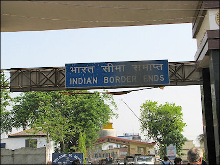 India - Border with Nepal
