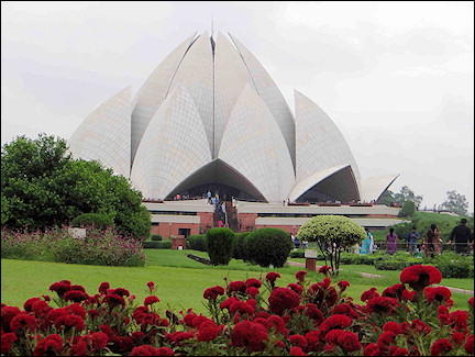 India, Delhi - Lotus temple
