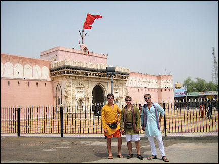 India - Bikaner, Karni Mata (Rat temple)