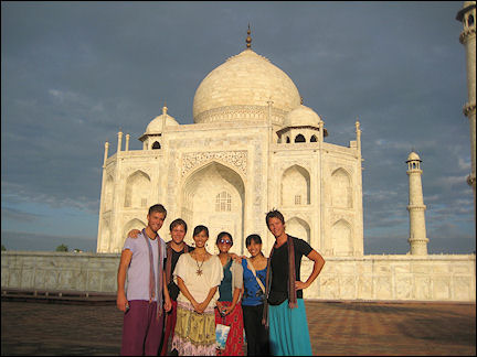 India - Agra, Taj Mahal early in the morning