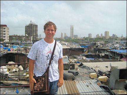 India - Mumbai, slum tour