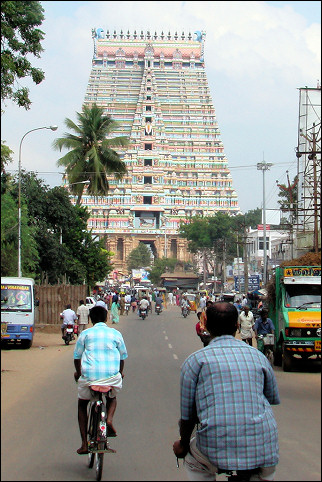 India, Trichy - Srirangam temple