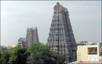 India, Madurai - Meenakshi temple