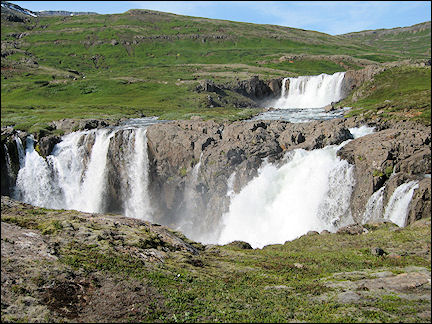 Iceland - Waterfalls near Seydisfjordur