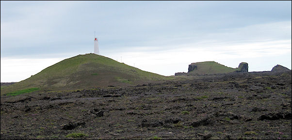 Iceland - Reykjanesta with lighthouse