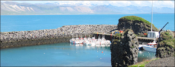Iceland - Port and bay, Arnastapi