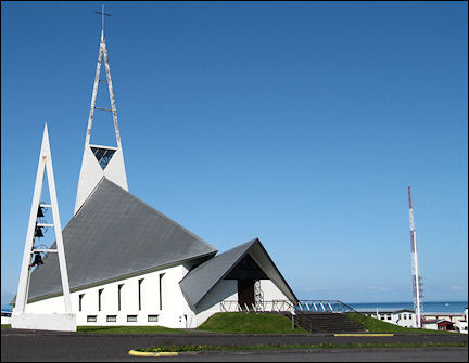 Iceland - Olafsvik, church