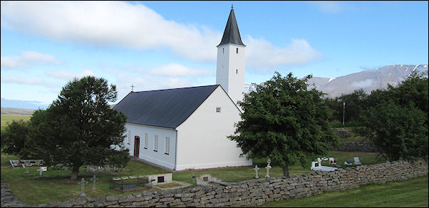 Iceland - Holar, church