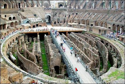 Italy, Rome - In the Colosseum