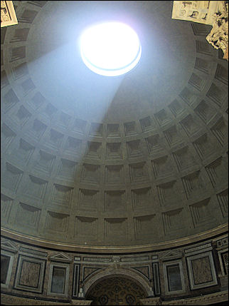 Italy, Rome - Dome of the Pantheon