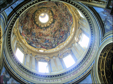 Italy, Rome - Dome Saint'Agnese in Agone