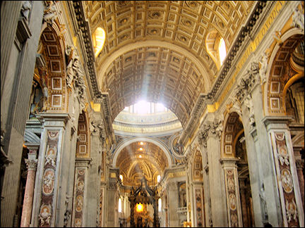 Italy, Rome - St. Peter Church