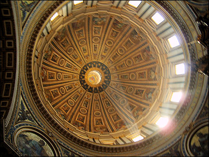 Italy, Rome - St. Peter Church, dome by Michelangelo