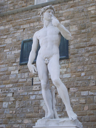 Italy, Florence - Michelangelo's David