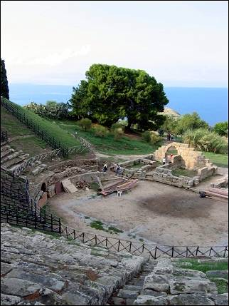 Italy, Sicily - Tindari, the Greek theater