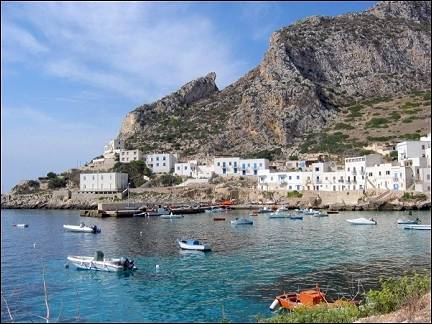Italy, Sicily - The island of Lavanzo