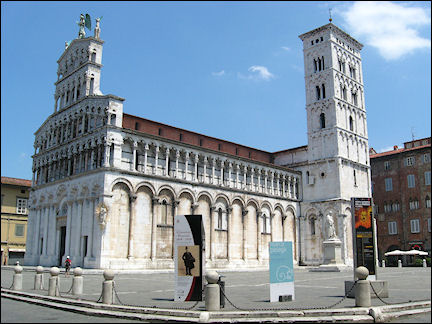 Italy, Tuscany - Lucca, San Michele in Foro