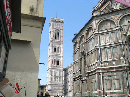 Italy, Tuscany - Firenze, cathedral and campanile