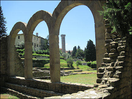 Italy, Tuscany - Fiesole, Roman therms