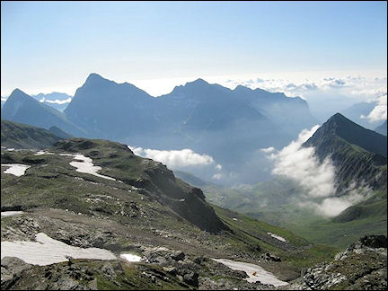Italy, Valle d'Aosta - Descent to Gressoney-Saint-Jean