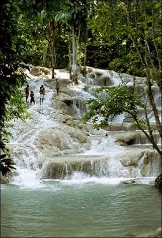 Jamaica - Dunn's River waterfall