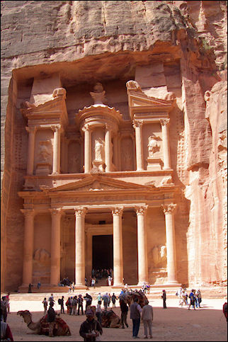 Jordan, Petra - The treasury