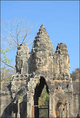 Cambodia - Khmer temple complex Angkor Thom