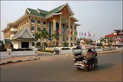 Laos - Vientiane, cultural center