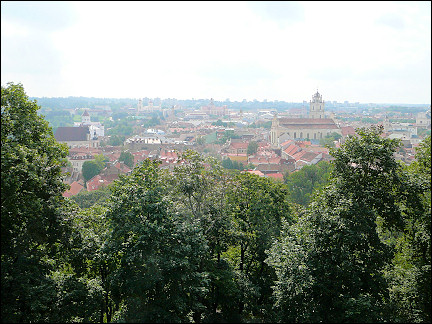 Lithuania, Vilnius - View from Gedimina Hill