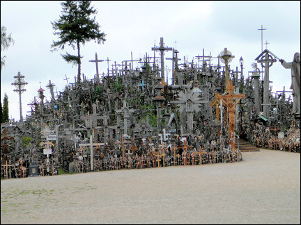 Lithuania - Hill with crosses