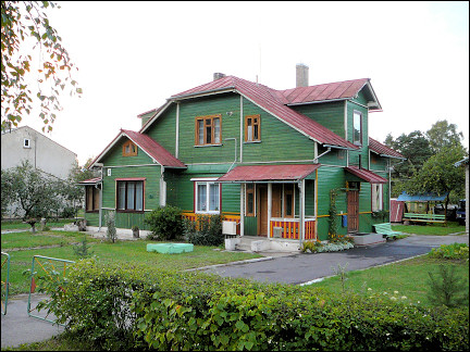 Lithuania - Typical Lithuanian house