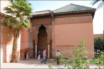 Morocco - Marrakech, Saadian tombs