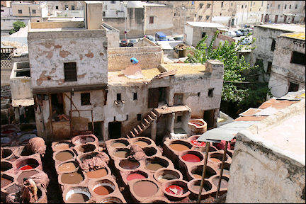 Morocco - Fès, tanneries