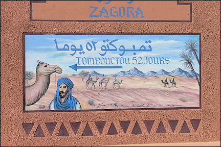 Morocco - Zagora, still 52 days to Timbuktu