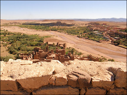 Morocco - View from Aït ben Haddou