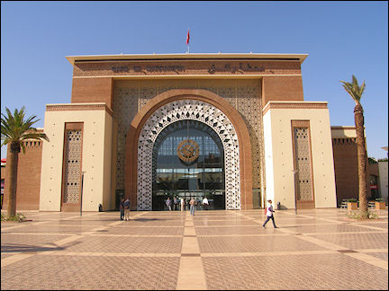 Morocco - Train station, Marrakech