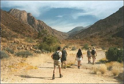 Namibia - Hiking in the mountains