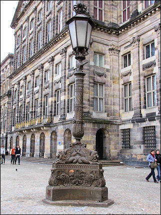 Netherlands, Amsterdam - Royal Palace at Dam Square