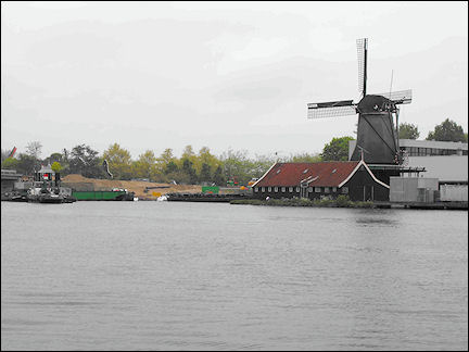 Netherlands, Amsterdam - On the boat ride to Zaanse Schans