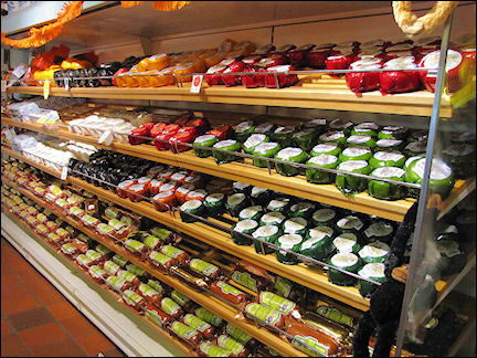 Netherlands, Amsterdam - I never tasted so many varieties of cheese...