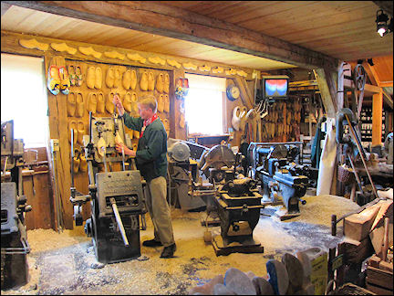 Netherlands, Amsterdam - A clog workshop at Zaanse Schans