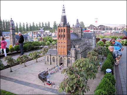 Netherlands, Amsterdam - Copies of Dutch buildings (1:25) at Madurodam