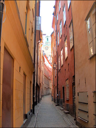 Sweden - Stockholm, Gamla stan, the old city