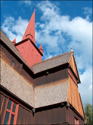 Norway - Ringebu, stave church