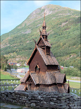 Norway - Borgund, stave church