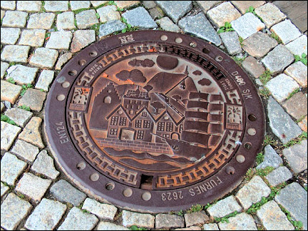 Norway - Bergen, manhole cover