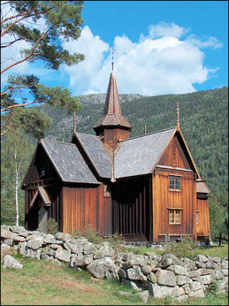 Norway - Nore, stave church