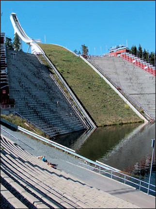 Norway - Oslo, Olympic ski jump