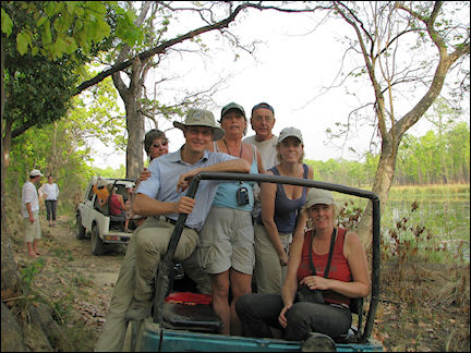 Nepal - Chitwan National Park, jeep safari