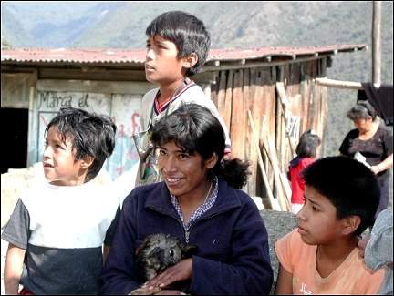 Peru - An encounter with the population